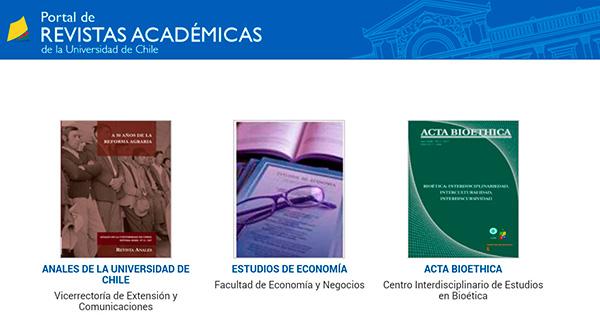 Portada Portal de Revistas académicas
